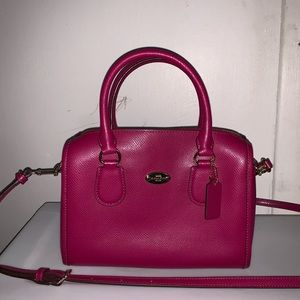 Coach Mini Satchel Tote Bag